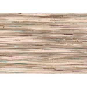 Ken Khaki Grasscloth Peelable Wallpaper (Covers 72 sq. ft.)
