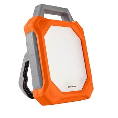5000 Lumens, 60-Watt LED Bluetooth and Outlet Socket Work Light