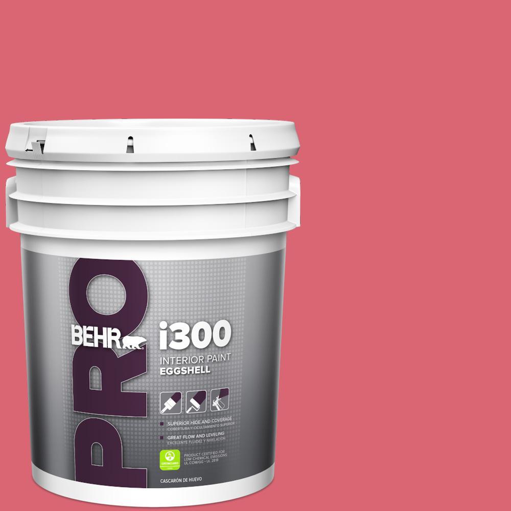 Behr Pro 5 Gal S H 650 Berry Charm Satin Exterior