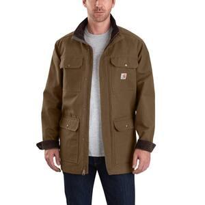 Men's XX-Large Coffee Cotton Field Coat