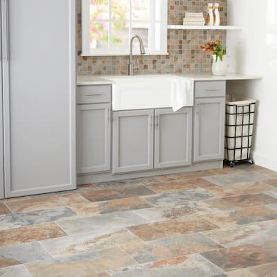 VitaElegante Ardesia 12 in. x 24 in. Porcelain Floor and Wall Tile (15.6 sq. ft. / case)