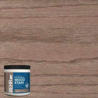 8 oz. TIS-512 Classic Gray Transparent Water-Based Fast Drying Interior Wood Stain