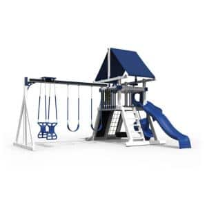Orion White and Blue Vinyl Playset