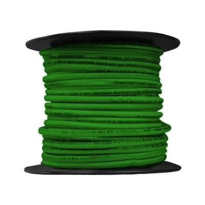 100 ft. 12/19 Green Solid THHN Wire