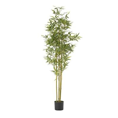 Mesena 6 ft. Artificial Bamboo Plant