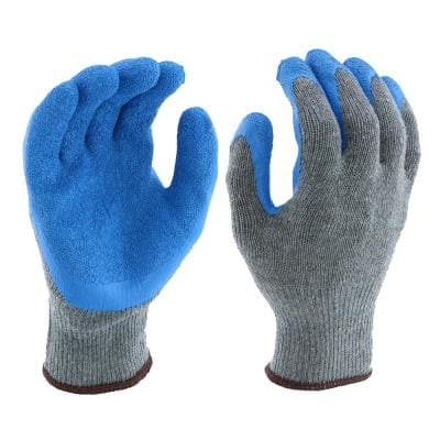 Latex Coated String Knit Large Multi-Purpose Gloves
