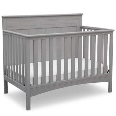 Gray Fancy 4-in-1 Convertible Crib
