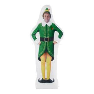 6 ft Pre-Lit LED Airblown Photorealistic Buddy the Elf Christmas Inflatable