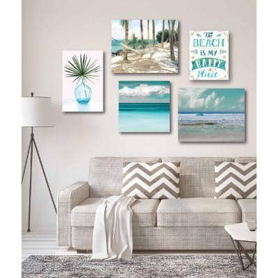 """""""Tropical Tranquility Gallery Wall Collection"""" Printed Wall Art (5-Piece)"""