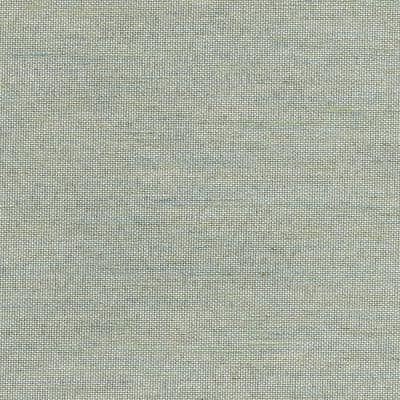 Samai Aquamarine Grasscloth Aquamarine Wallpaper Sample