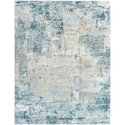 Ice Blue Area Rugs Rugs The Home Depot