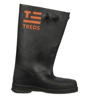 17 in. Over-the-Shoe Concrete Boot, Men Sizes 10.5-11.5, Large