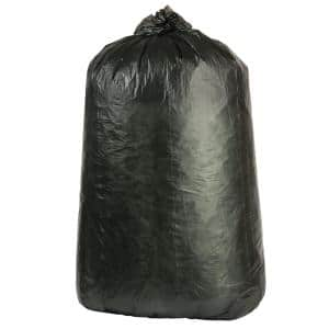 40-45 Gal. Black High-Density Trash Bags (Case of 250)
