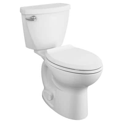 Cadet 3 Tall Height 10 in. Rough-In 2-piece 1.28 GPF Single Flush Elongated Toilet with Slow Close Seat in White