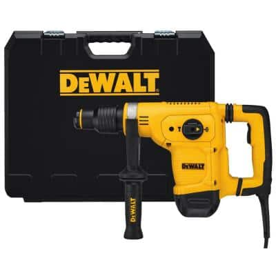10.5 Amp 1-1/8 in. Corded SDS-MAX Chipping Concrete/Masonry Rotary Hammer with SHOCKS and Case