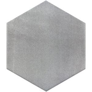 Langston Gray 9.875 in. x 11.375 in. x 10mm Matte Porcelain Floor and Wall Tile (18 pieces / 10.76 sq. ft. / box)
