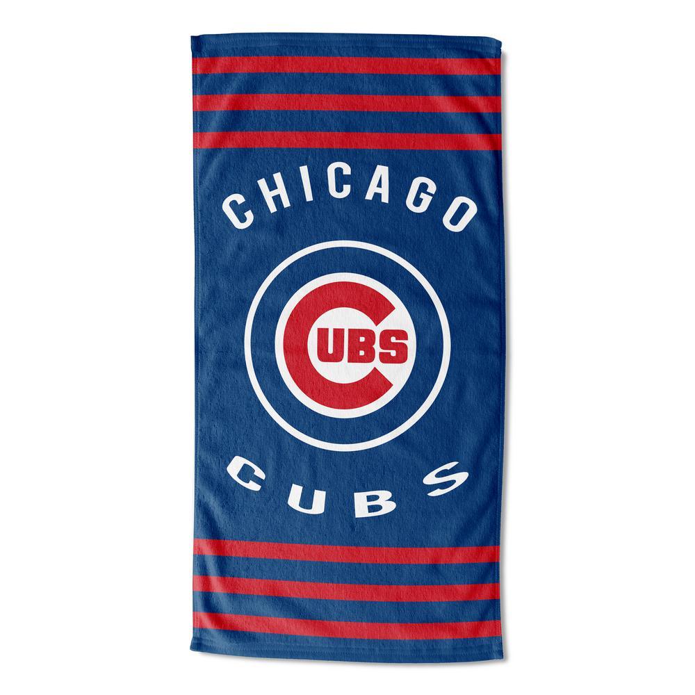 Cubs Stripes Multi Colored Beach Towel