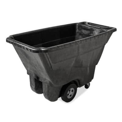 850 lb. Capacity Black Structural Foam Tilt Truck