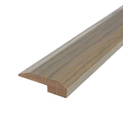 Solid Hardwood Somali 0.38 in. T x 2 in. W x 78 in. L Multi-Purpose Reducer Molding