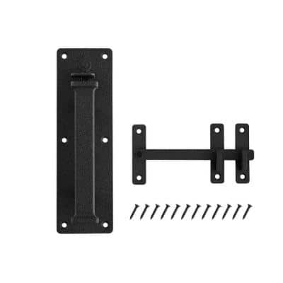 10 in. Heavy Thumb Latch with Rust Defender