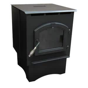 1,750 sq. ft. EPA Certified Pellet Stove with 40 lbs. Hopper and Auto Ignition