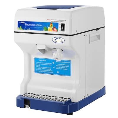 4 oz. 265lbs/hr Blue Ice Crusher Shaver Snow Cone Maker Machine