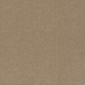 Peel and Stick First Impressions Taupe Ribbed Texture 24 in. x 24 in. Commercial Carpet Tile (15-tile / case)