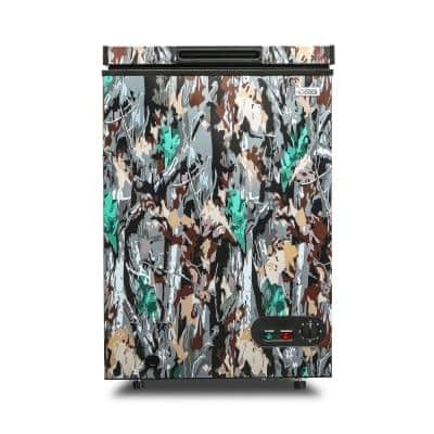 3.5 cu. ft. Manual Defrost Chest Freezer in Green Camo