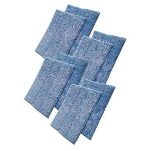 Replacement Microfiber Cleaning Pads, Fits Euroflex Monster EZ1 Steam Mop, Washable and Reusable (8-Pack)
