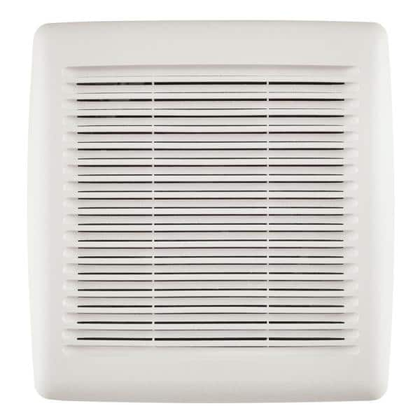 Broan Nutone Easy Install Bathroom Exhaust Fan Replacement Grille Cover White Fgr300s The Home Depot