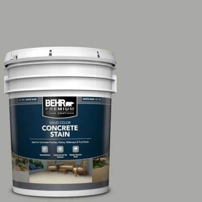 5 gal. #PFC-68 Silver Gray Solid Color Flat Interior/Exterior Concrete Stain