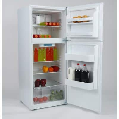 11.5 cu. ft. Frost Free Top Freezer Refrigerator in White