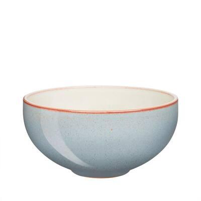 Heritage Terrace Stoneware 41.25 fl. oz. Light Blue Large Noodle Bowl