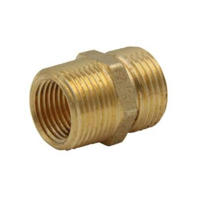 3/4 in. MHT x 3/4 MIP or 1/2 in. FIP Brass Multi Adapter Fitting