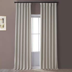 Safari Tan Solid Blackout Curtain - 50 in. W x 84 in. L