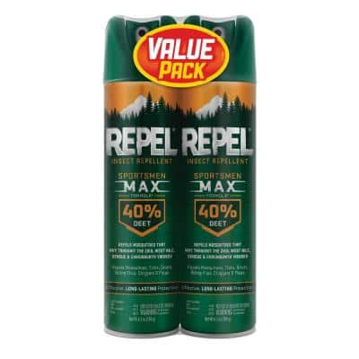 Sportsmen 6.5 oz. Max Insect Repellent Twin Pack
