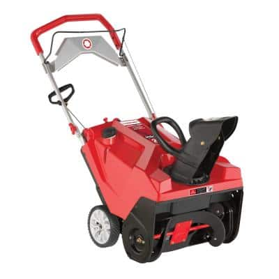 Squall 21 in. 208 cc Electric Start Single-Stage Gas Snow Blower with E-Z Chute Control