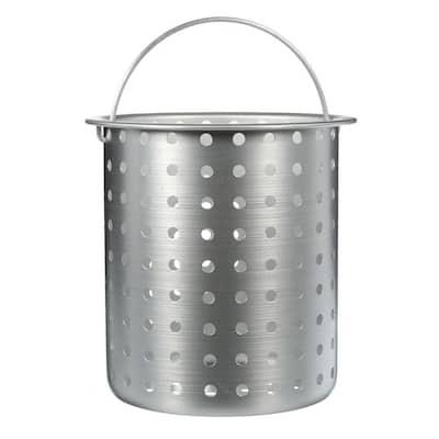 30 qt. Aluminum Perforated Basket