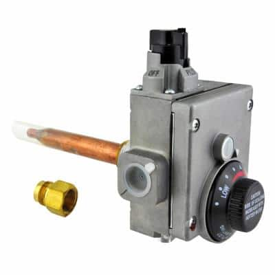 White-Rodgers Gas Control Thermostat with 1-1/4 in. Shank (NG)