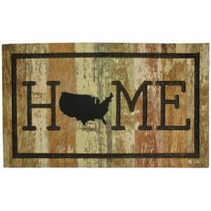 Home Usa 18 in. x 30 in. Doorscapes Mat
