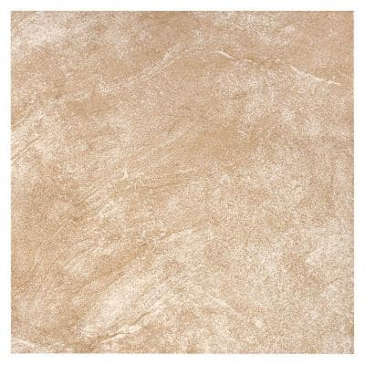 Portland Stone Beige 18 in. x 18 in. Glazed Ceramic Floor and Wall Tile (2.18 sq. ft./Each)