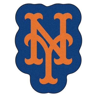 MLB - New York Mets 30 in. x 40 in. Indoor Area Rug Mascot Mat