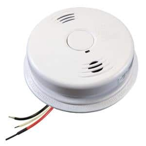 10 Year Worry-Free Hardwired Combination Smoke and Carbon Monoxide Detector with Battery Backup and Voice Alarm (3-Pack)