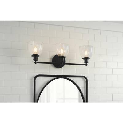 40-Watt Equivalent G25 Dimmable Fine Bendy Filament LED Vintage Edison Light Bulb Soft White (2-Pack)