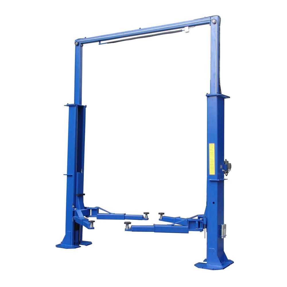 Heavy-Duty 2-Post Lift 15,000 lbs. Capacity in Blue