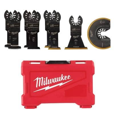 Oscillating Multi-Tool Blade Kit (8-Piece)