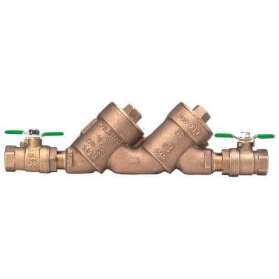 1 in. Lead-Free Double Check Valve Assembly with Top Access Covers
