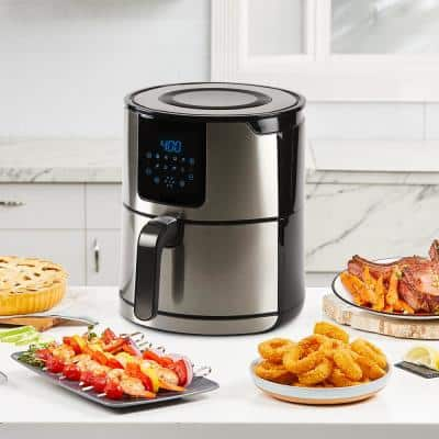 4 qt. Stainless Steel Air Fryer