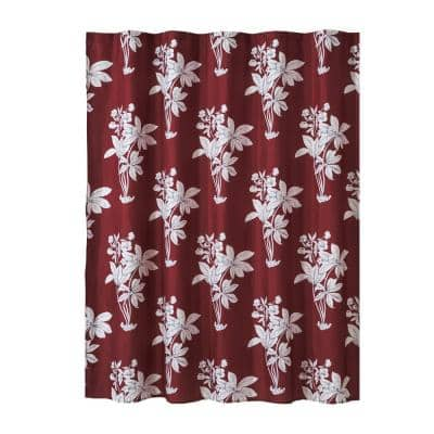 72 in. Camelia Shower Curtain