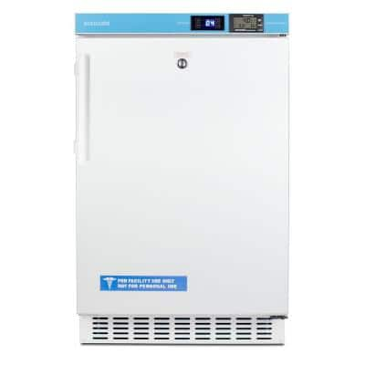 2.65 cu. ft. Healthcare Refrigerator in White, ADA Compliant